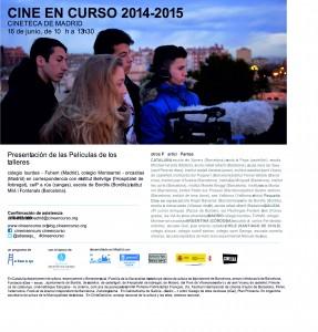 Cine en curso 2015